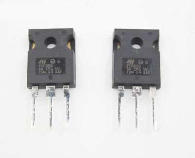 5pc Tip3055 Dip To247 Darlington Transistor 15a 100v