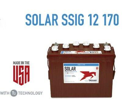 Trojan Battery Solar 12v 170 Ah 100hr Ssig 12 170 Ssig12170 Deep Cycle Flooded