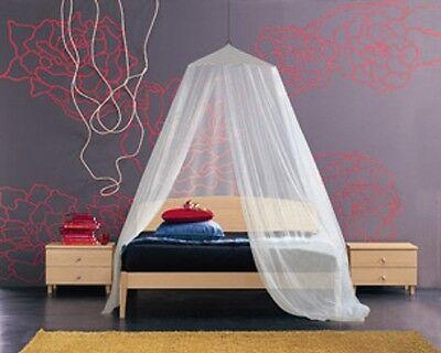 Zanzariera a baldacchino per letto matrimoniale tenda bianca per insetti zanzare