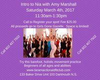 Nia Technique Playshop with Amy Marshall