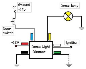 Dome Light Delay Dimmer