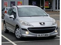 *LOW MILEAGE* Peugeot 207 1.4 S 5 Dr Full MOT, New CAMBELT & TYRES !