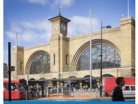 MODERN - Fully furnished - Central London - EAST SIDE - KINGS CROSS EUSTON-N1C