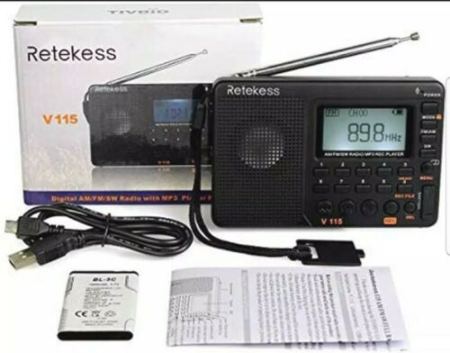 Portable Am Fm Radio With Shortwave Radio Mp3 Player Digital
