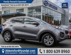 2017 Kia Sportage LX GREAT CONDITION, BC OWNED & ACCIDENT FREE