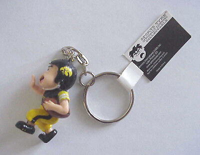 "Univ. Iowa Hawkeyes Football ""Sports Tyke"" Licensed Mascot keychain"