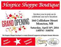 Grand Re-opening: Hospice Shoppe Boutique