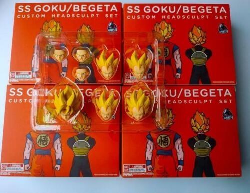 Demoniacal Fit - SS Custom headsculpt set for SHF Goku&Vegeta kit in stock New