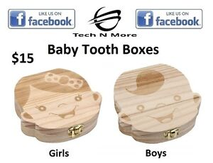 Baby Tooth Boxes	(2 Options)