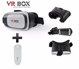 VR Headset + Bluetooth Controller