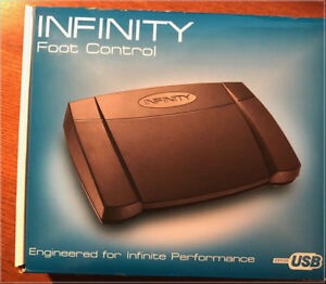 INFINITY Foot Control For Dictation with USB