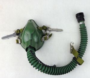 Original Chinese PLA 6512A-1 Air Force Oxygen Mask Pilot Mask & Latch