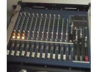 Yamaha mg 16/4 fx mixer, mixing desk, PA, Speakers, amplifier