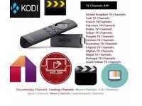 AMAZON FIRE TV STICK 2nd Gen Kodi FREE✔️Movies✔️TV Series✔️Sports✔️Kids✔️TV APPs
