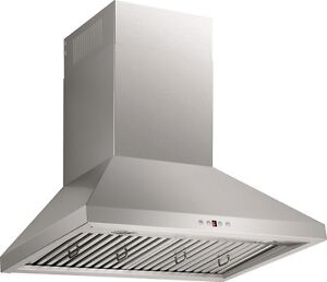 High Power - Quiet Chimney hood -30""