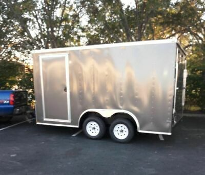 Barely Used 2018 8 X 16 Lark Empty Concession Trailer For Sale In Minnesota