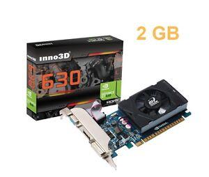 NVIDIA Geforce GT 2GB DDR3 PCI Express Video Graphics Card HMDI DVI VGA 2 gb