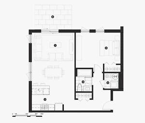 NOUVEAU PRODUIT - 3 1/2 spacieux, grande chambre, 1 mois GRATUIT