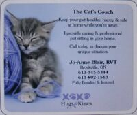 The Cat's Couch ~ Pet Sitting & Home Care
