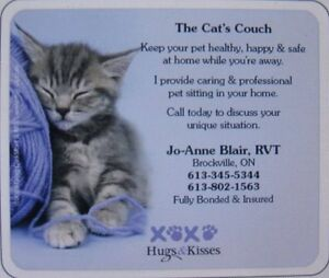 The Cat's Couch ~ Cat Pet Sitting & Home Care