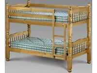 ** LIMITED TIME SPECIAL OFFER ** BRAND NEW CHUNKY SOLID PINE BUNK BED EXPRESS DELIVERY