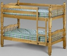 BRAND NEW PINE BUNK BED ON WHOLESALE PRICE