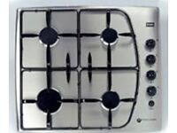 Creda Reflection Stailess Steel Gas Hob R820GR - JUST LIKE NEW!