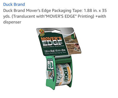 Duck Brand Movers Edge Packing Tape