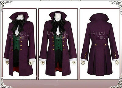 Black Butler Season 2 Earl Alois Trancy Outfit Cosplay Costume Custom-made