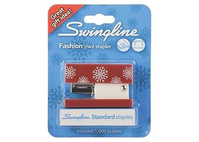 Swingline Mini Fashion Stapler with 1000 Standard Staples -