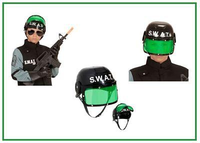 SWAT Helm Agent Polizei Kinder Jungenkostüm Kostüm Karneval Fasching , K ()