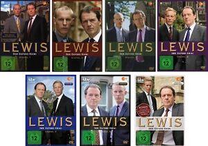 28 DVDs * LEWIS - DER OXFORD KRIMI - SEASON / STAFFEL 1 - 7 IM SET # NEU OVP &