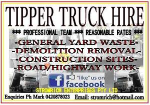 Tipper Truck Hire (hourly rate) Raceview Ipswich City Preview