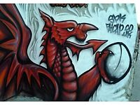 Street Art - Graf Graffiti - Murals - LARGE/small - Commission Artist Nationwide