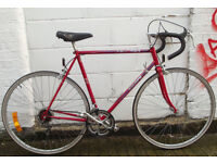 Vintage road racing bike PEUGEOT frame 22inch - serviced - Welcome for test ride
