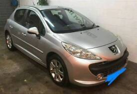 Peogueot 207 08 1.6 hdi 90 sport 5 door diesel mot until feb18, cheap tax
