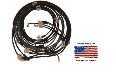 Complete Wiring Harness Allis Chalmers Wd45 Diesel Tractor With Generator