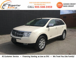 2007 Lincoln MKX SUV - Automatic -Finance for $86 Bi-Weekly!