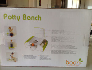 Boon Potty Bench  - Modern Training Potty/Stepstool Peterborough Peterborough Area image 4