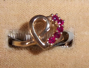 10Kt Genuine Ruby Ladies Ring - New, never worn