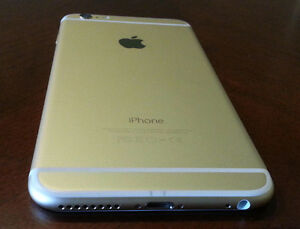 Mint condition Gold Telus iPhone 6 16GB