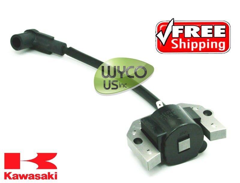 (1) OEM IGNITION COIL, KAWASAKI FH500V ENGINES, 21171-7034, 211717034, 11D6
