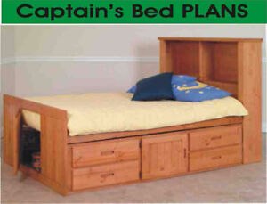 WANTED- single Captains Bed