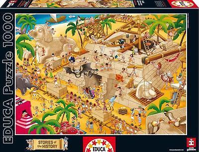 EDUCA JIGSAW PUZZLE STORIES OF THE HISTORY ANCIENT EGYPT 1000 PCS CARTOON