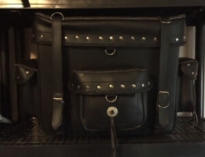 Nice Leather Motorcycle Bag ,Very clean inside and out