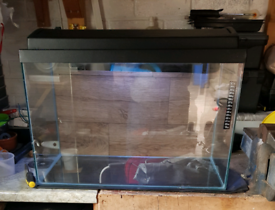 Never been used fish tank with lid.