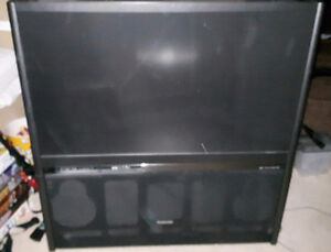 Works great! Rear Projection Toshiba tv FREE