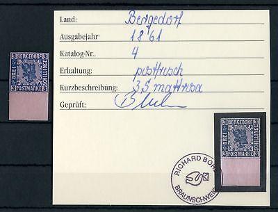 BERGEDORF Nr.4 ** UNTERRAND 3 SCHILLING - siehe Foto !!! (124849)
