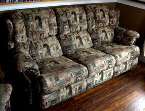 Ensemble sofa et fauteuil