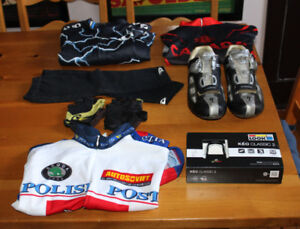 XL PACKAGE New Keo pedals SPECIALIZED carbon shoes jerseys Giro